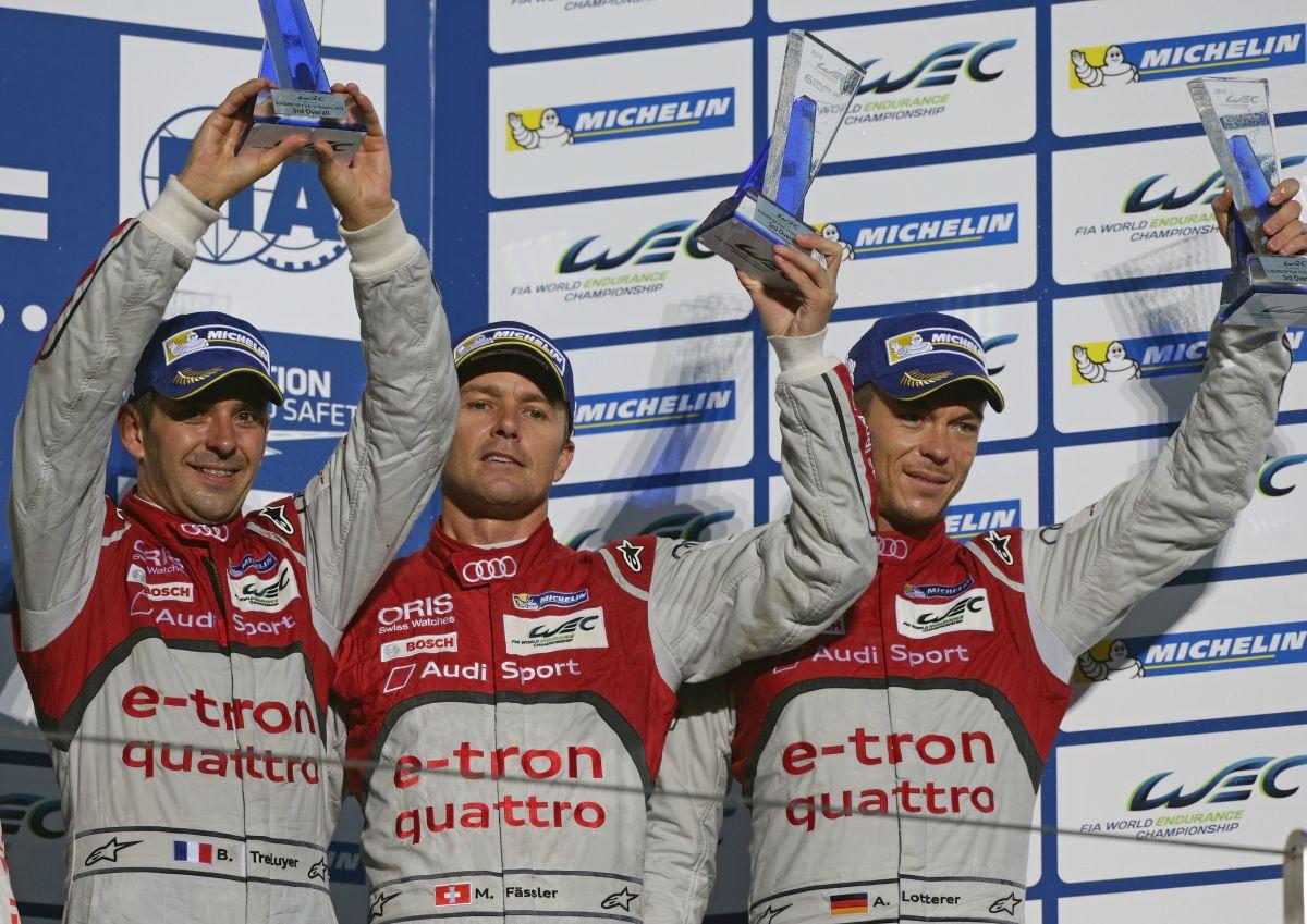 WEC - Audi s'incline de nouveau face à Porsche à Fuji - 3ème place sur le podium