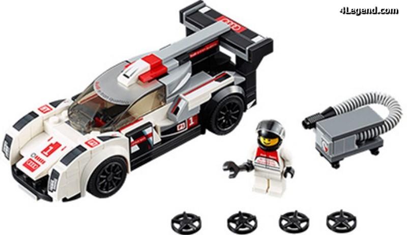 Audi R18 Audi R8 Lms Porsche 919 Et 917k En Lego Via La