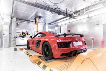Des chariots autonomes pour la production de l'Audi R8