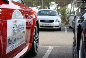 Rallye Audi TT de la concession Jean Lain
