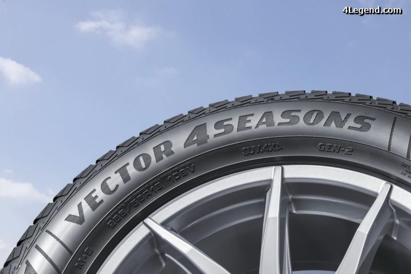 goodyear vector 4seasons gen 2 le nouveau pneu toutes. Black Bedroom Furniture Sets. Home Design Ideas