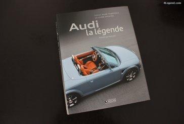 Livre Audi la légende de Matthias Kaluza