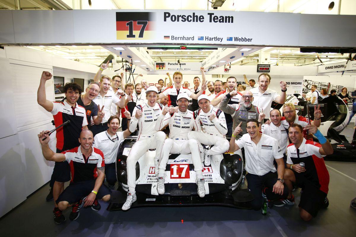 WEC 2015 - Porsche remporte les titres Constructeurs et Pilotes avec Michelin
