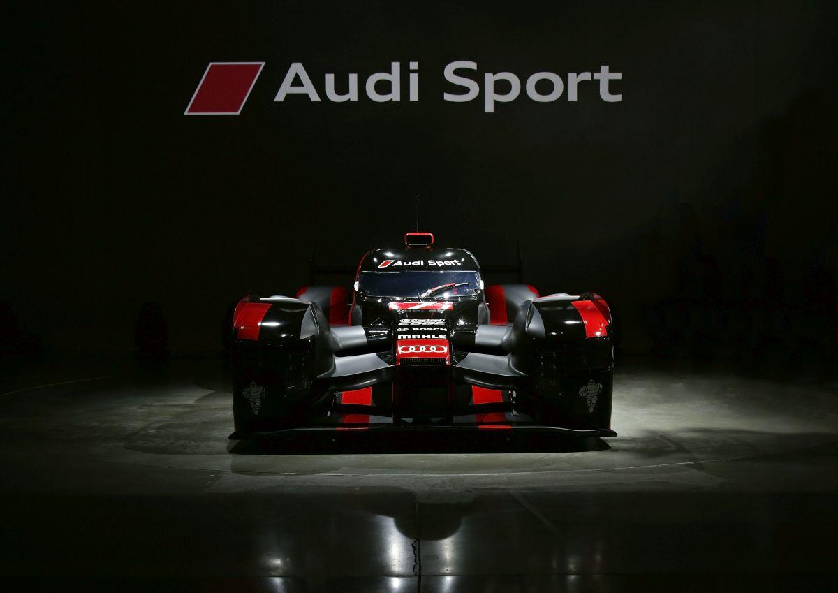 Audi dévoile sa nouvelle Audi R18 2016 en première mondiale à Munich