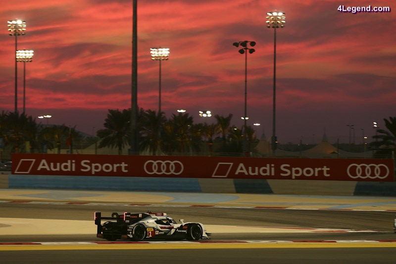 The final FIA WEC round is a night race