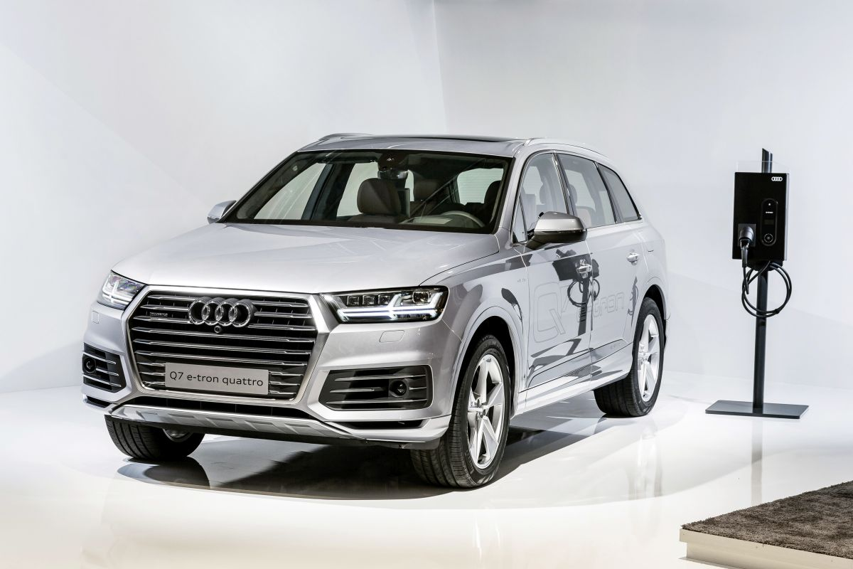Audi future performance days 2015 - Charge rapide et chargeur sans fil Audi