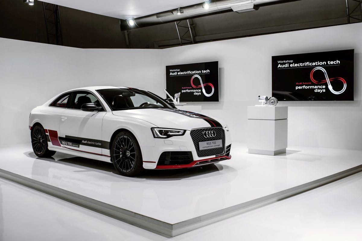 Audi future performance days 2015 - Plateforme modulaire d'électrification: nouvelles technologies 12 et 48 volts