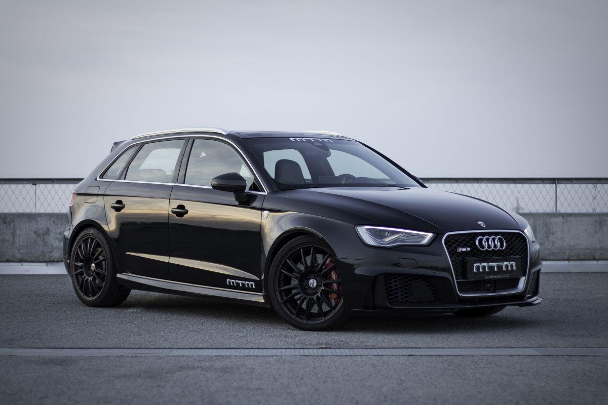 L'Audi RS3 MTM de 435 ch franchit la barrière des 300 km/h