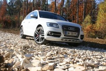 Essai sur 2000 km de l'Audi SQ5 TDI de 2015