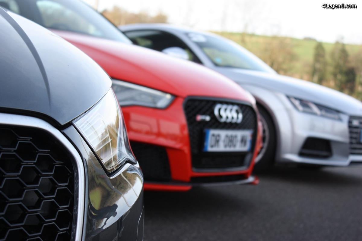 Essais Audi Sport de la concession Jean Lain