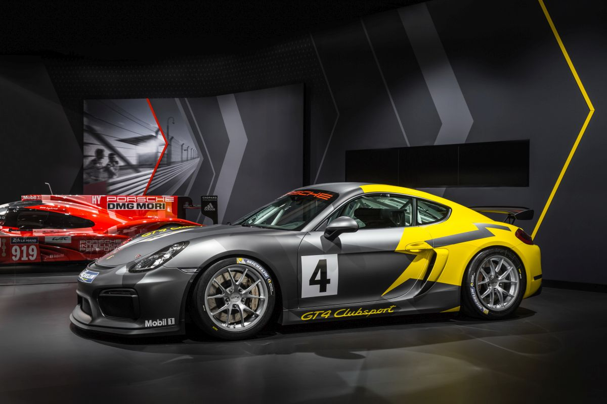 Porsche Cayman GT4 Clubsport - Le nouveau challenger sur les circuits