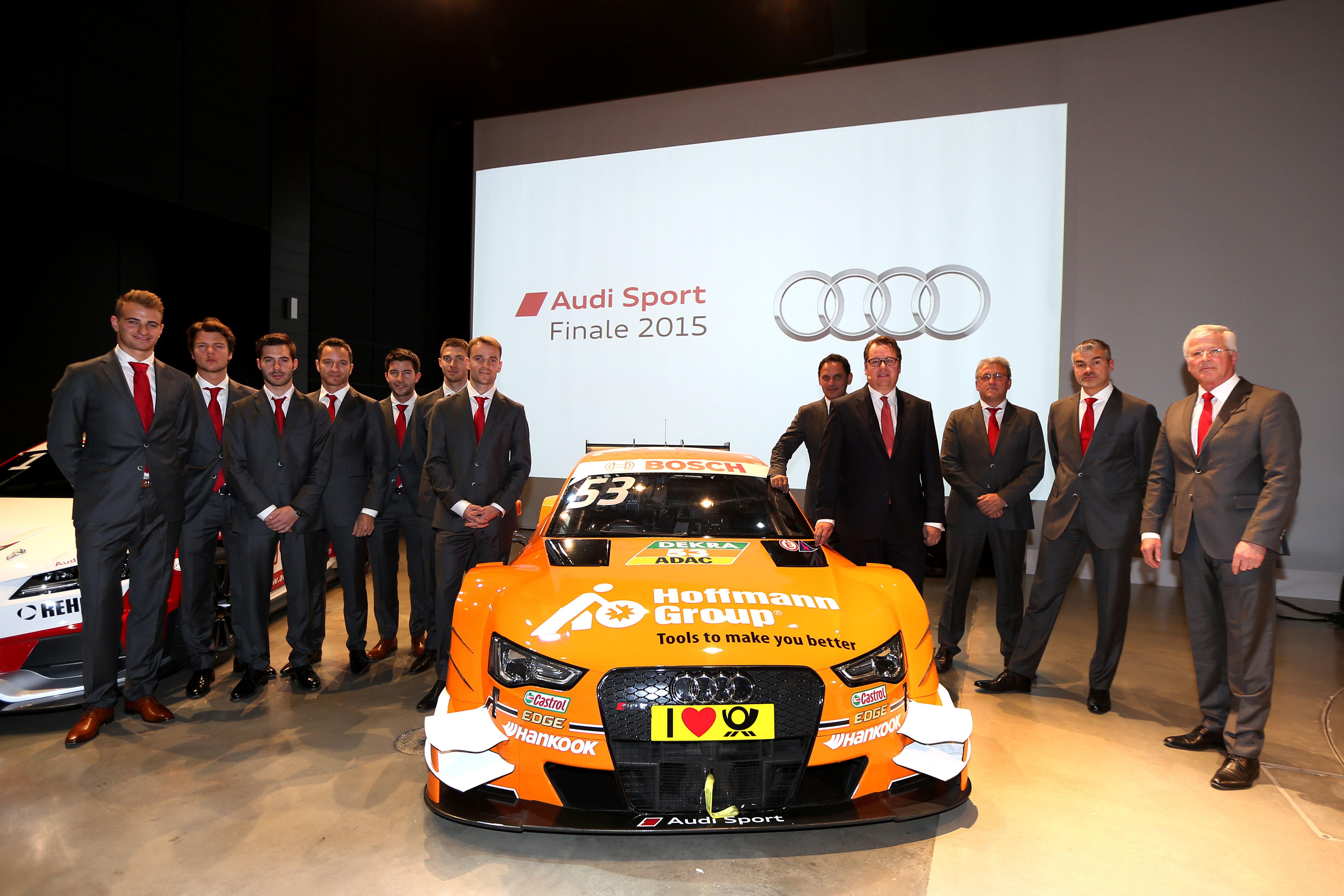 Audi Sport dévoile son programme 2016