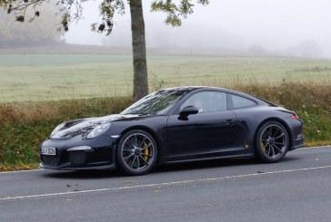 Spyshots Porsche 911 R – La future Porsche des puristes