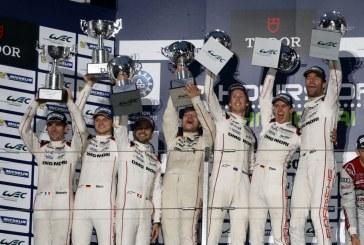 WEC – Doublé Porsche devant Audi aux 6 Heures de Shanghai et titre des constructeurs pour Porsche et Michelin