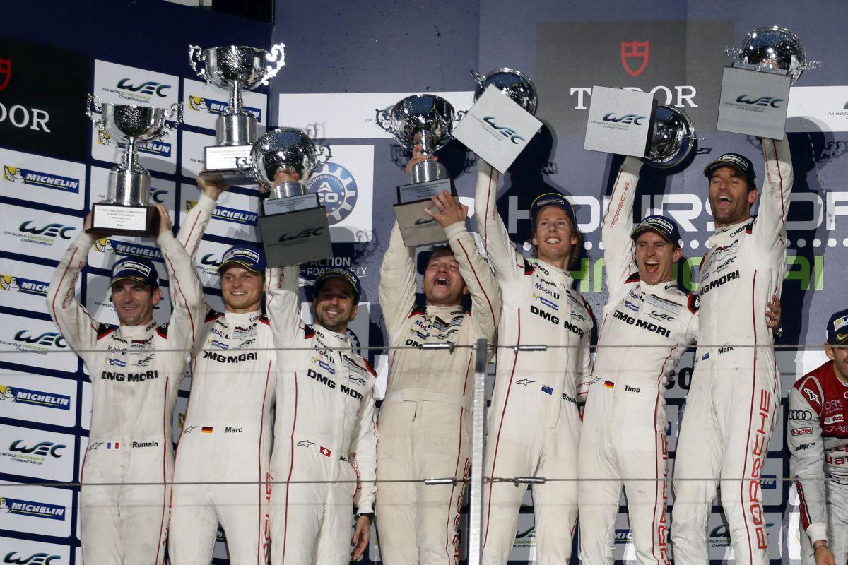 WEC - Doublé Porsche devant Audi aux 6 Heures de Shanghai et titre des constructeurs pour Porsche et Michelin