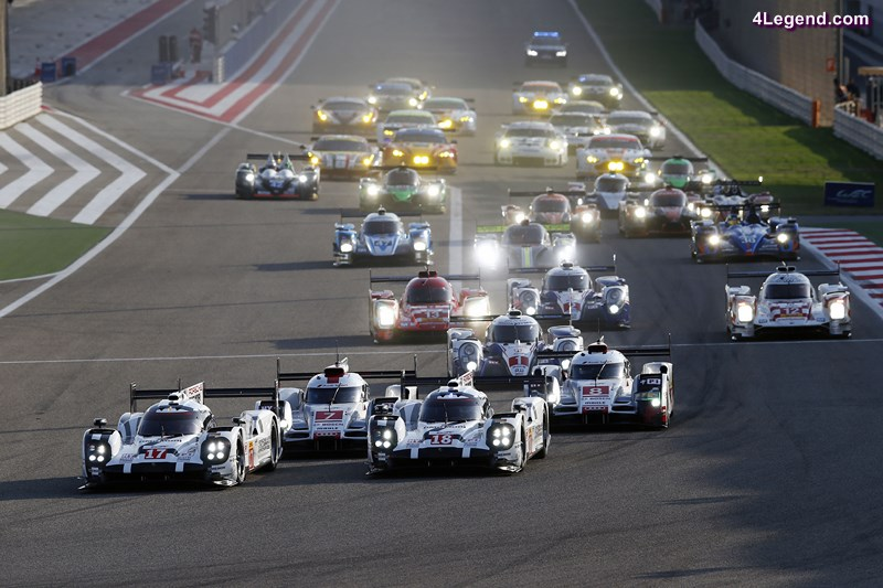 Porsche 919 Hybrid, Porsche Team 17: Timo Bernhard, Brendon Hartley, Mark Webber, Porsche Team 18: Romain Dumas, Neel Jani, Marc Lieb