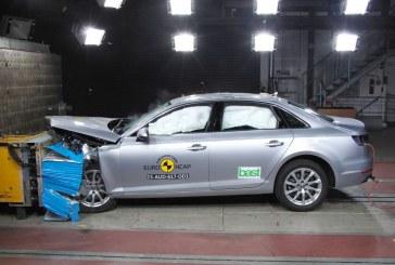 5 étoiles pour la nouvelle Audi A4 aux crash-tests Euro NCAP