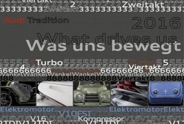 Le nouveau calendrier 2016 d'Audi Tradition