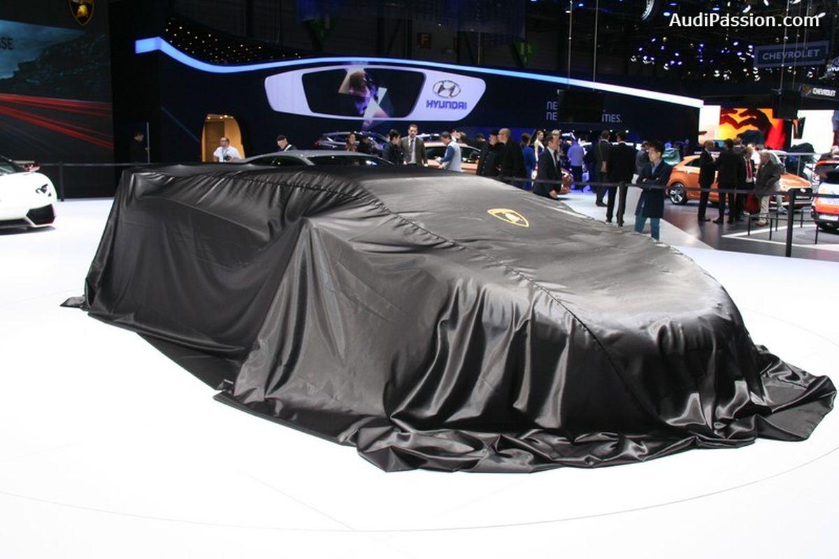 Lamborghini Centenario LP 770-4 - Une nouvelle supercar Lamborghini en édition limitée à Genève 2016