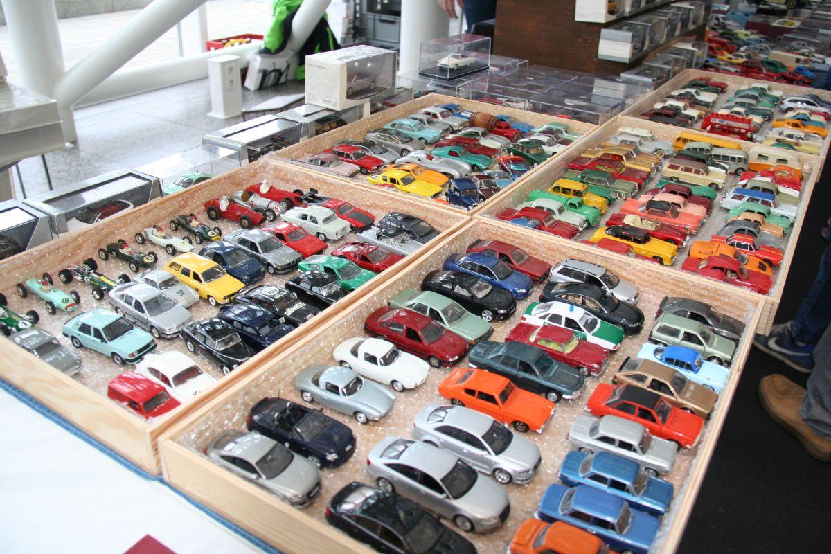 Bourse de miniatures 2015 à l'Audi Forum Ingolstadt