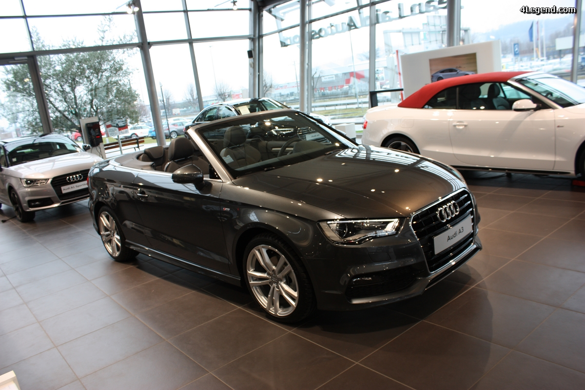 audi a3 cabriolet 1 4 tfsi gris daytona. Black Bedroom Furniture Sets. Home Design Ideas
