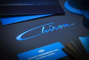 La nouvelle Bugatti s'appelle Chiron – Première mondiale à Genève 2016