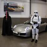 Soirée de lancement de la Porsche 911 Type 991 phase 2
