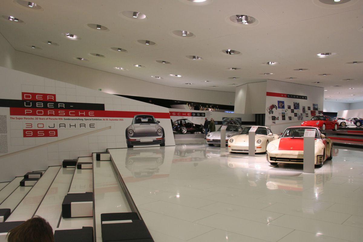 Live Porsche Museum - Exposition des 30 ans de la Porsche 959 et de son histoire