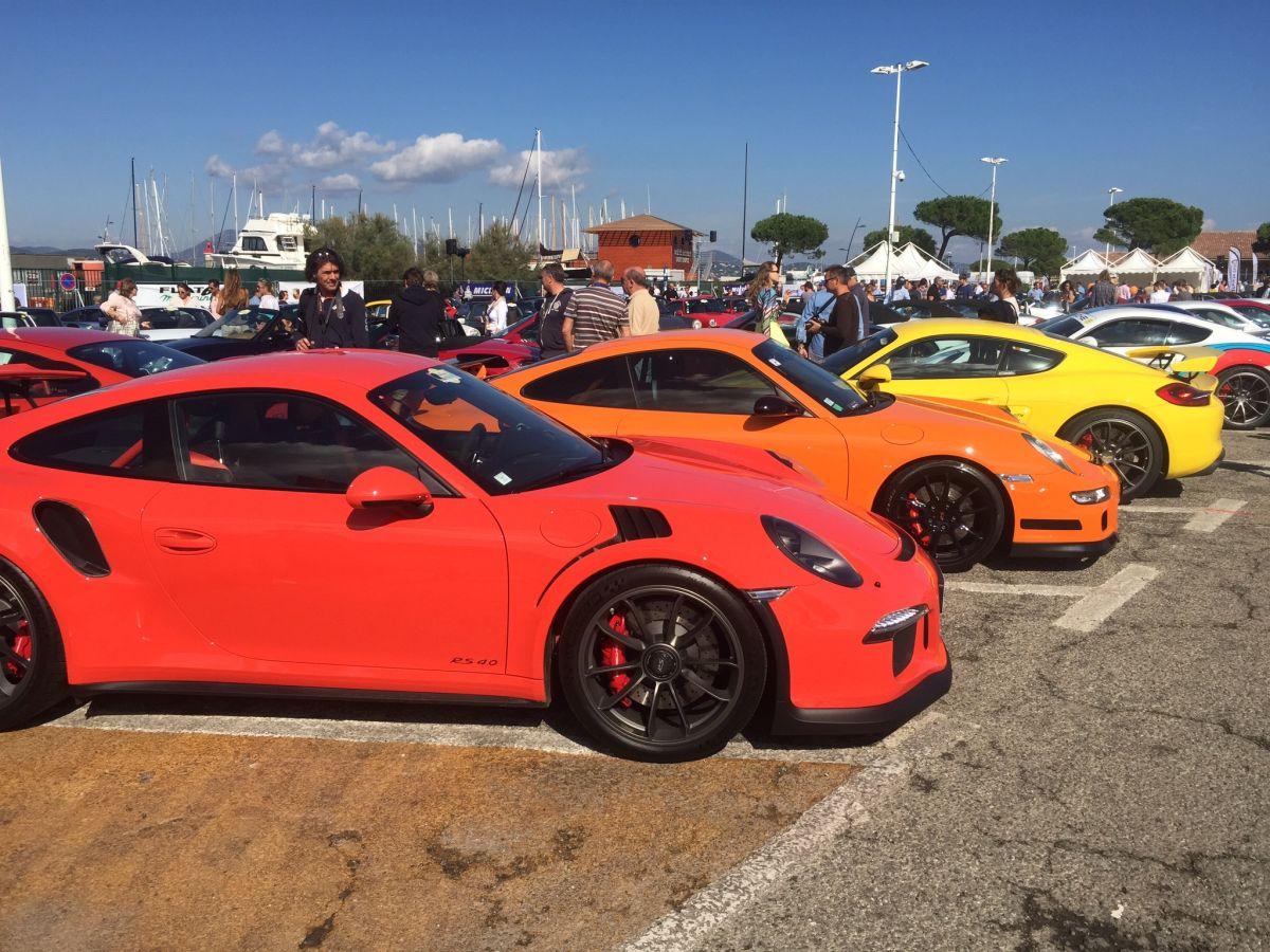 Paradis Porsche 2015 à Saint-Tropez - Un superbe rassemblement Porsche