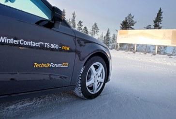 Pneu hiver Continental WinterContact TS 860 – Présentation et essais au Continental TechnikForum 2015