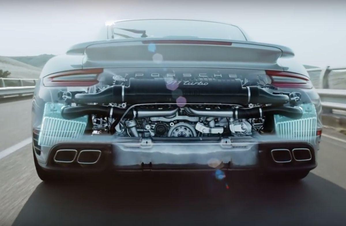 vid o d couvrez l int rieur du moteur flat6 biturbo de la nouvelle porsche 911 turbo 4legend. Black Bedroom Furniture Sets. Home Design Ideas