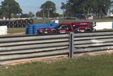 Vidéo – L'Audi R18 e-tron quattro en essais à Sebring