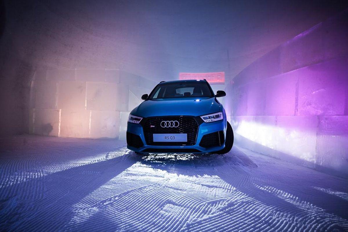 ICE CAMP 2016 à Kitzsteinhorn présenté par Audi quattro - La RS Q3 à l'honneur