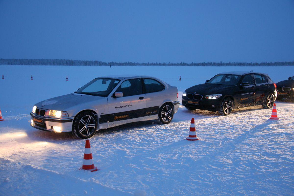 Continental TechnikForum 2015 – Essais de 2 générations de pneus hiver de 15 ans de différence