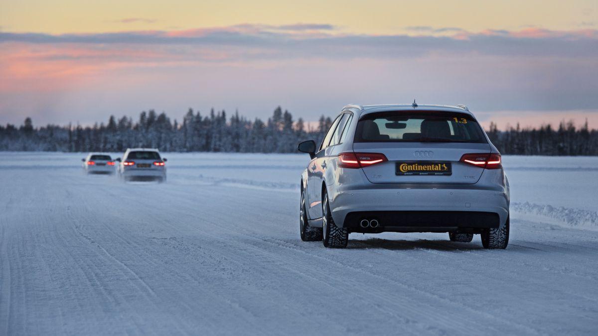 Continental TechnikForum 2015 – Incidences de l'usure des pneus hiver sur le freinage et l'accélération