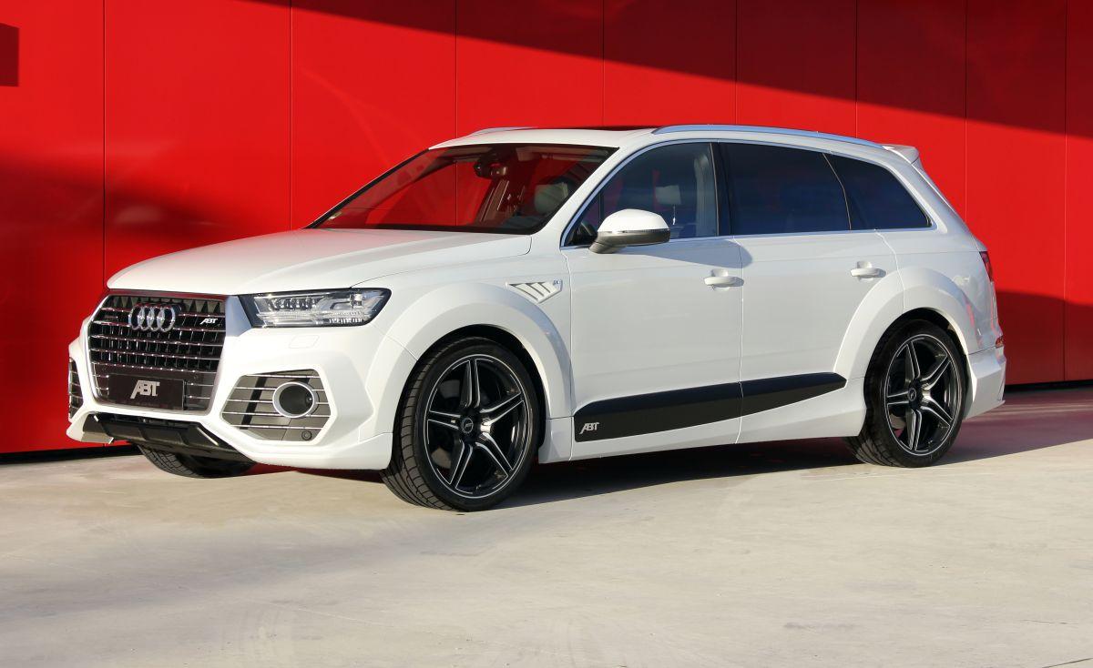 Nouvelle ABT QS7 - Une Audi Q7 agressive à la sauce ABT
