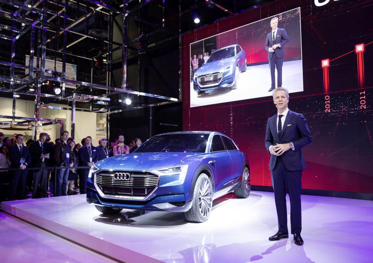 CES 2016 - Audi présente la conduite pilotée, l'électrification et la connectivité