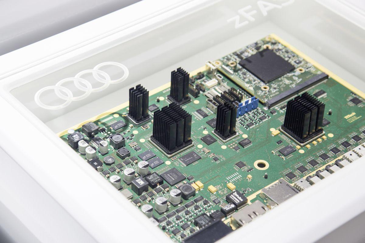 CES 2016 - L'importance de l'électronique via l'Audi Progressive Semiconductor Program (PSCP)