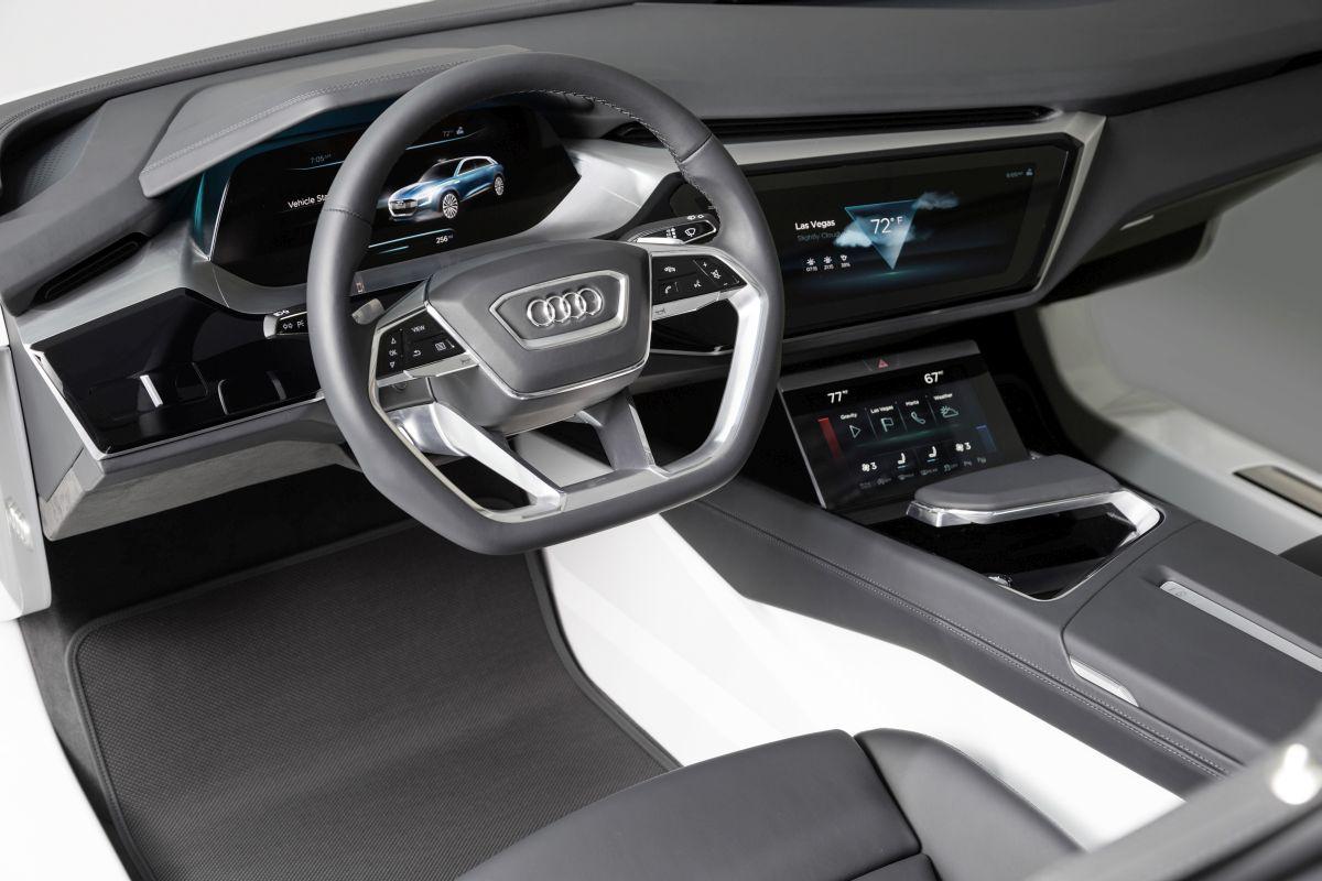 CES 2016 - Audi virtual dashboard - la nouvelle IHM des futurs modèles Audi