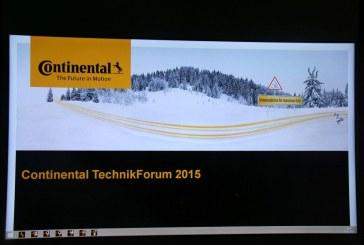 Continental TechnikForum 2015 – Pour mieux comprendre les technologies des pneus hiver
