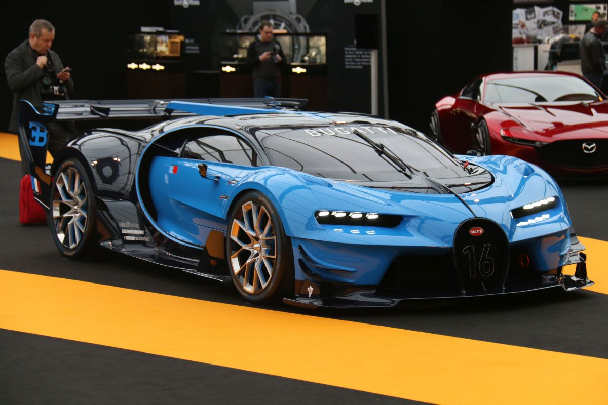 la bugatti vision gran turismo re oit le grand prix de la cr ativit au festival automobile. Black Bedroom Furniture Sets. Home Design Ideas