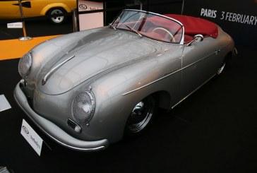 Porsche 356 Pre-A Speedster by Reutter de 1955 à l'exposition de concept cars