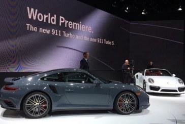 NAIAS 2016 – Première mondiale des Porsche 911 Turbo et 911 Turbo S