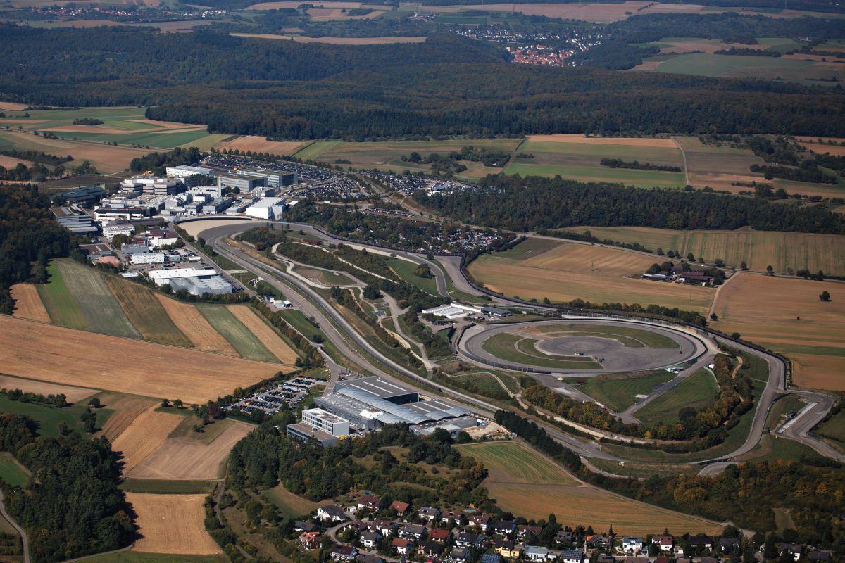 Découverte du centre R&D de Porsche de Weissach et de ses pistes d'essais
