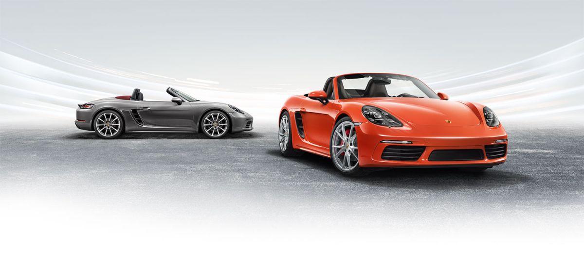 Nouvelles Porsche 718 Boxster & 718 Boxster S à moteur central quatre cylindres turbo