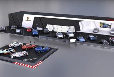 Porsche au salon automobile de Bruxelles – Une grand stand mettant en avant la compétition