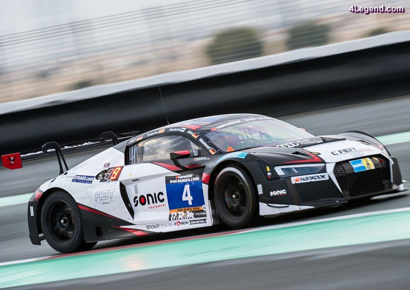 Audi R8 LMS #4 (C.Abt Racing), Daniel Abt, Matias Henkola, Christer Jöns, Isaac Tutumlu Lopez, Andreas Weishaupt