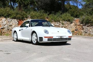 Une Porsche 959 vendue aux enchères au Salon Rétromobile