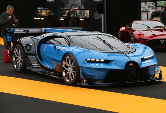 La Bugatti Vision Gran Turismo reçoit le « Grand Prix de la Créativité » au Festival Automobile International Paris 2016