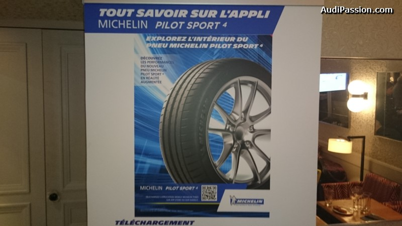 michelin lance un pop up store sur pour le pneu michelin pilot sport 4. Black Bedroom Furniture Sets. Home Design Ideas
